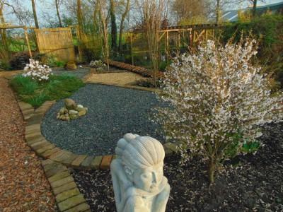 voorjaar in de aziatische tuin
